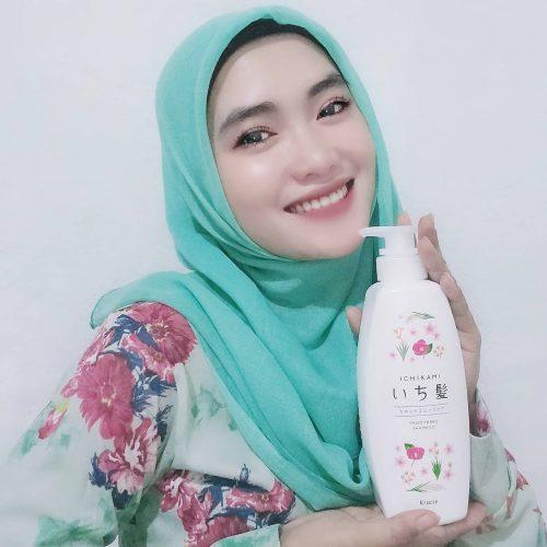 Ichikami Smoothing Care Shampoo - 480 ml Pump photo review